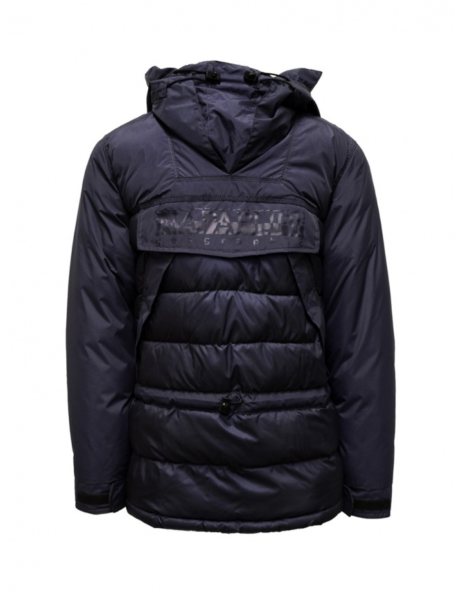 Napapijri Skidoo Infinity blue jacket for men N0YIYI176 SKIDOO INFINITY BLU mens jackets online shopping