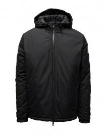 Golden Goose giacca a vento nera con cappuccio G35MP542.A1 BLACK order online