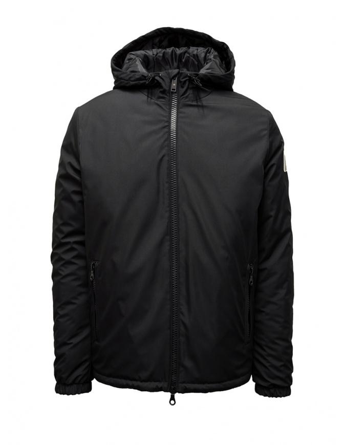 giacca avento nera da uomo