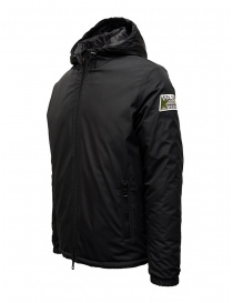 Golden Goose giacca a vento nera con cappuccio