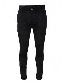 John Varvatos Motor City pantalone velluto nero online