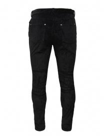 John Varvatos Motor City pantalone velluto nero