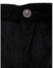 John Varvatos Motor City black corduroy pants price
