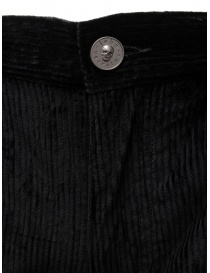John Varvatos Motor City pantalone velluto nero prezzo