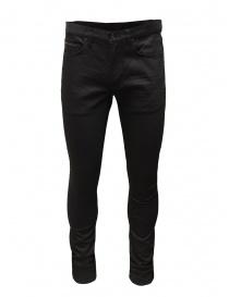John Varvatos pantaloni neri con borchie online