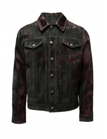 John Varvatos velvety sheep leather jacket L1150V3 Y1448 602 PORT