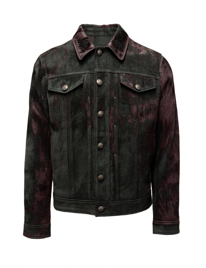 John Varvatos velvety sheep leather jacket L1150V3 Y1448 602 PORT mens jackets online shopping