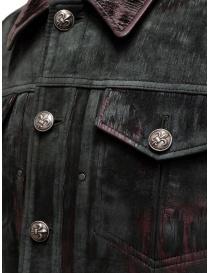 Giacca John Varvatos pelle di pecora vellutata giubbini uomo acquista online