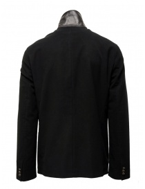 John Varvatos black double-breasted military jacket mens suit jackets buy online