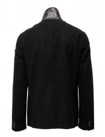 John Varvatos giacca doppiopetto stile militare nera giacche uomo acquista online