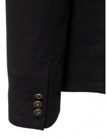John Varvatos giacca doppiopetto stile militare nera acquista online prezzo