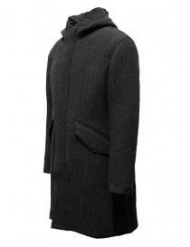 John Varvatos dark grey knitted parka price