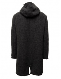 John Varvatos dark grey knitted parka mens jackets buy online