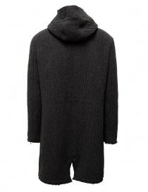 Parka John Varvatos in maglia grigio scuro giubbini uomo acquista online