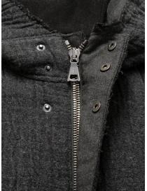 John Varvatos dark grey knitted parka buy online