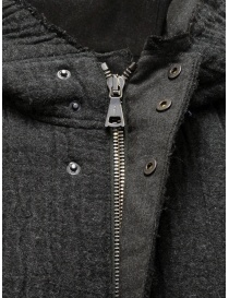 Parka John Varvatos in maglia grigio scuro