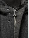 John Varvatos dark grey knitted parka shop online mens jackets