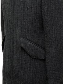 John Varvatos dark grey knitted parka mens jackets price