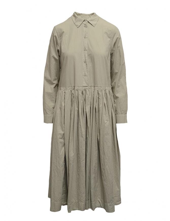 Casey Casey oxyde white shirt dress 13FR272 OXYDE womens dresses online shopping