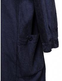 Abito camicia Casey Casey in seta blu navy prezzo