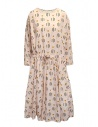Casey Casey light pink dress in geometric flower print buy online 13FR287 PINK
