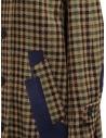 Cappotto Kolor beige a quadri e patchwork blu prezzo 19WCL-C05103 BEIGE MIX CHECKshop online