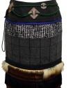 Longuette Kolor a patchwork con pelliccia e moschettone prezzo 19WCL-S01103 GRAY CHECKshop online