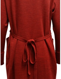 Hiromi Tsuyoshi red and beige pleated dress womens dresses buy online