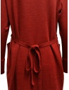 Hiromi Tsuyoshi red and beige pleated dress RW19-003 RED buy online