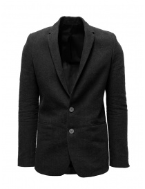 Mens suit jackets online: Label Under Construction dark grey suit jacket