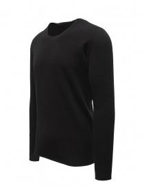 Label Under Construction maglia in lana e angora nera prezzo