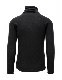 Label Under Construction grey sweater with separated collar mens knitwear buy online