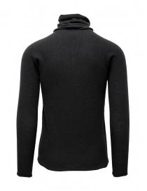 Label Under Construction maglia grigia con collo alto staccabile maglieria uomo acquista online