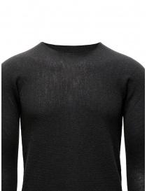 Label Under Construction maglia grigia con collo alto staccabile maglieria uomo prezzo