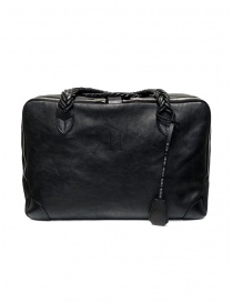 Golden Goose Equipage handbag in black washed leather GCOMA701.J9 BLK WASHED LEATHER order online