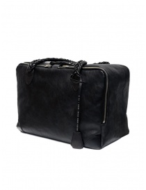 Golden Goose Equipage handbag in black washed leather