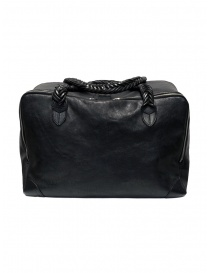 Golden Goose Equipage handbag in black washed leather price