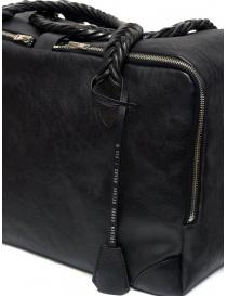 Golden Goose Equipage handbag in black washed leather bags buy online