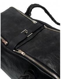 Bauletto Equipage Golden Goose in pelle lavata nera borse prezzo