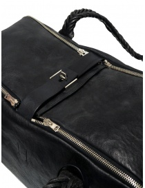 Golden Goose Equipage handbag in black washed leather bags price