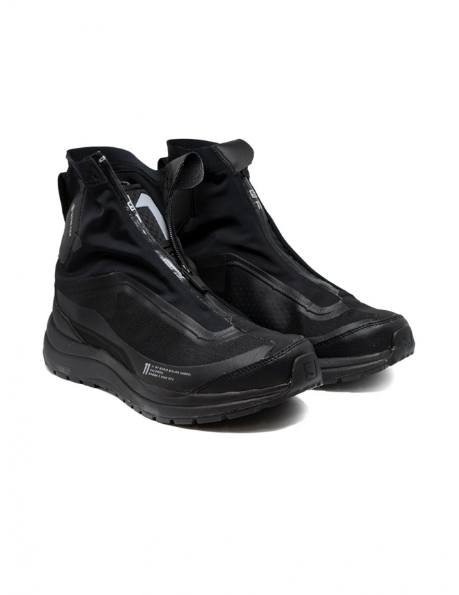 Boris Bidjan Salomon Bamba 2 black high-top sneakers 66 11xS A BAMBA2 HIGH GTX BLK mens shoes online shopping