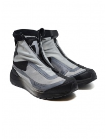 Boris Bidjan Salomon Bamba 2 black and grey high-top sneakers online