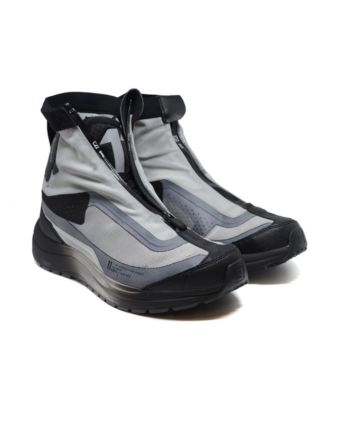 Boris Bidjan Salomon Bamba 2 black and grey high-top sneakers 68 11xS AS BAMBA2 HIGH GTX GRE mens shoes online shopping
