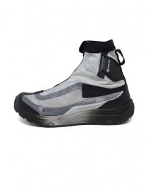 Sneakers alte Bamba 2 Boris Bidjan Salomon nera e grigia