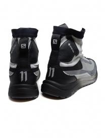 Boris Bidjan Salomon Bamba 2 black and grey high-top sneakers price