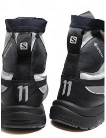 Boris Bidjan Salomon Bamba 2 black and grey high-top sneakers mens shoes price