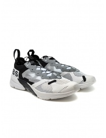 Boris Bidjan Salomon Bamba 4 black and white sneaker 52 11XS BAMBA4 BLK/WHT