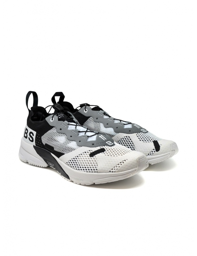 Boris Bidjan Salomon Bamba 4 black and white sneaker 52 11XS BAMBA4 BLK/WHT mens shoes online shopping