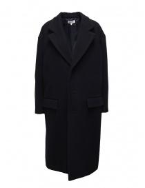 Cappotti donna online: Cappotto Miyao a uovo blu navy