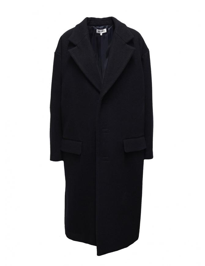 Cappotto Miyao a uovo blu navy MR-Y-03 NAVY cappotti donna online shopping